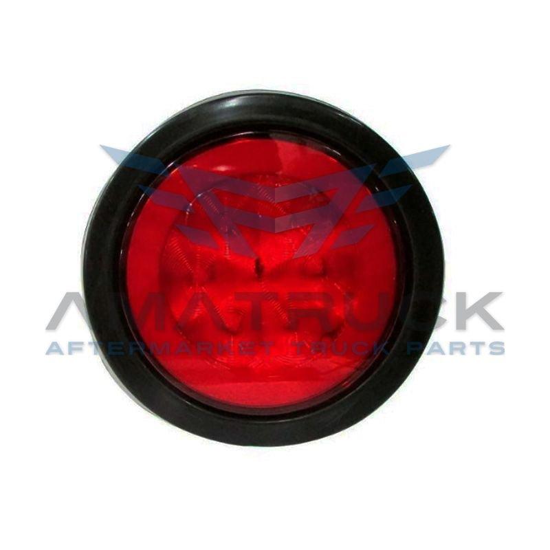"""Plafon Red Up 3/4"""" Rojo 1Led C/Hule"""