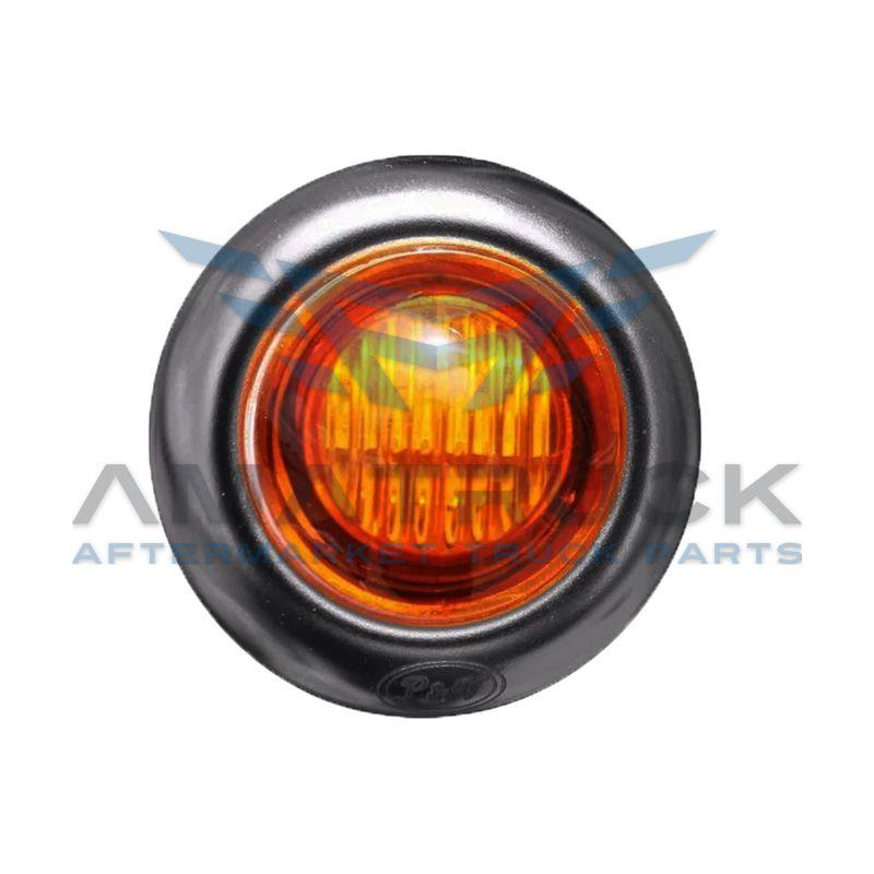 """Plafon Red Up 3/4"""" Ambar 2Led C/Hule"""