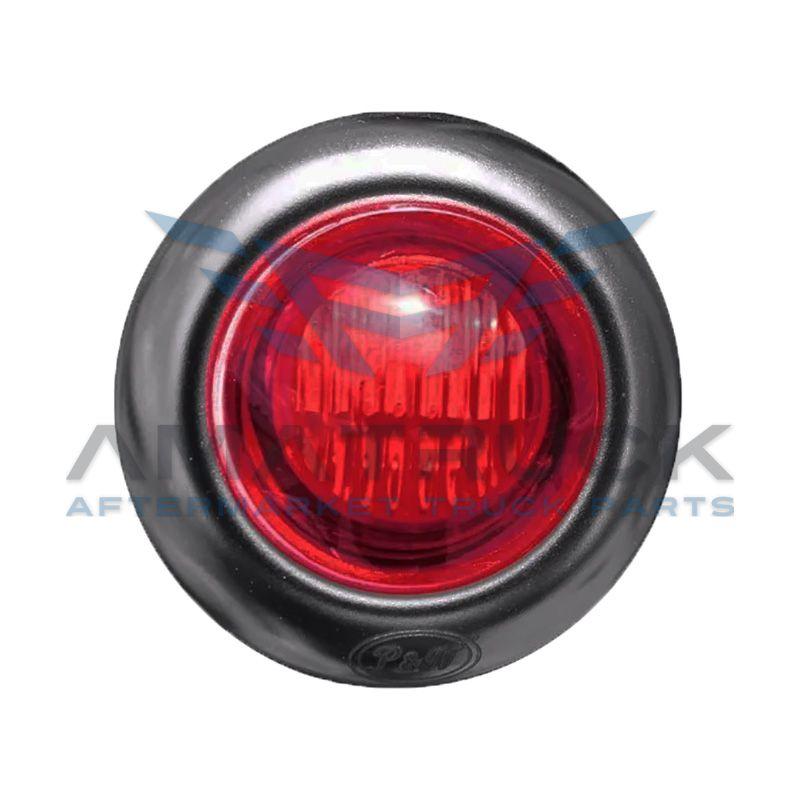 Plafon Red Up 3/4 Rojo 2Led C/Hule