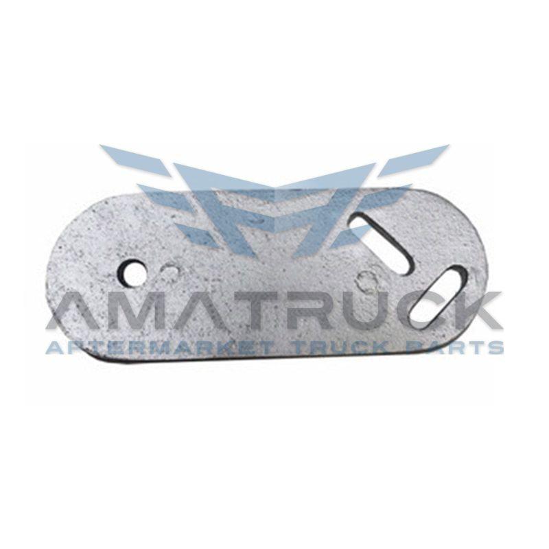 Placa Para Guia P/Cofre Kw T800 Aluminio